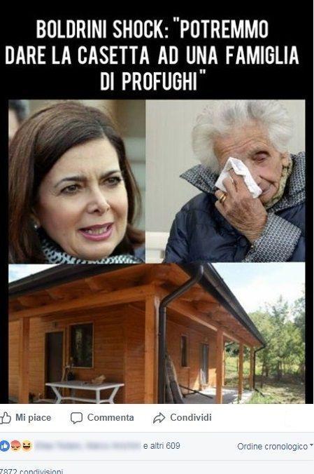 fake boldrini nonna peppina