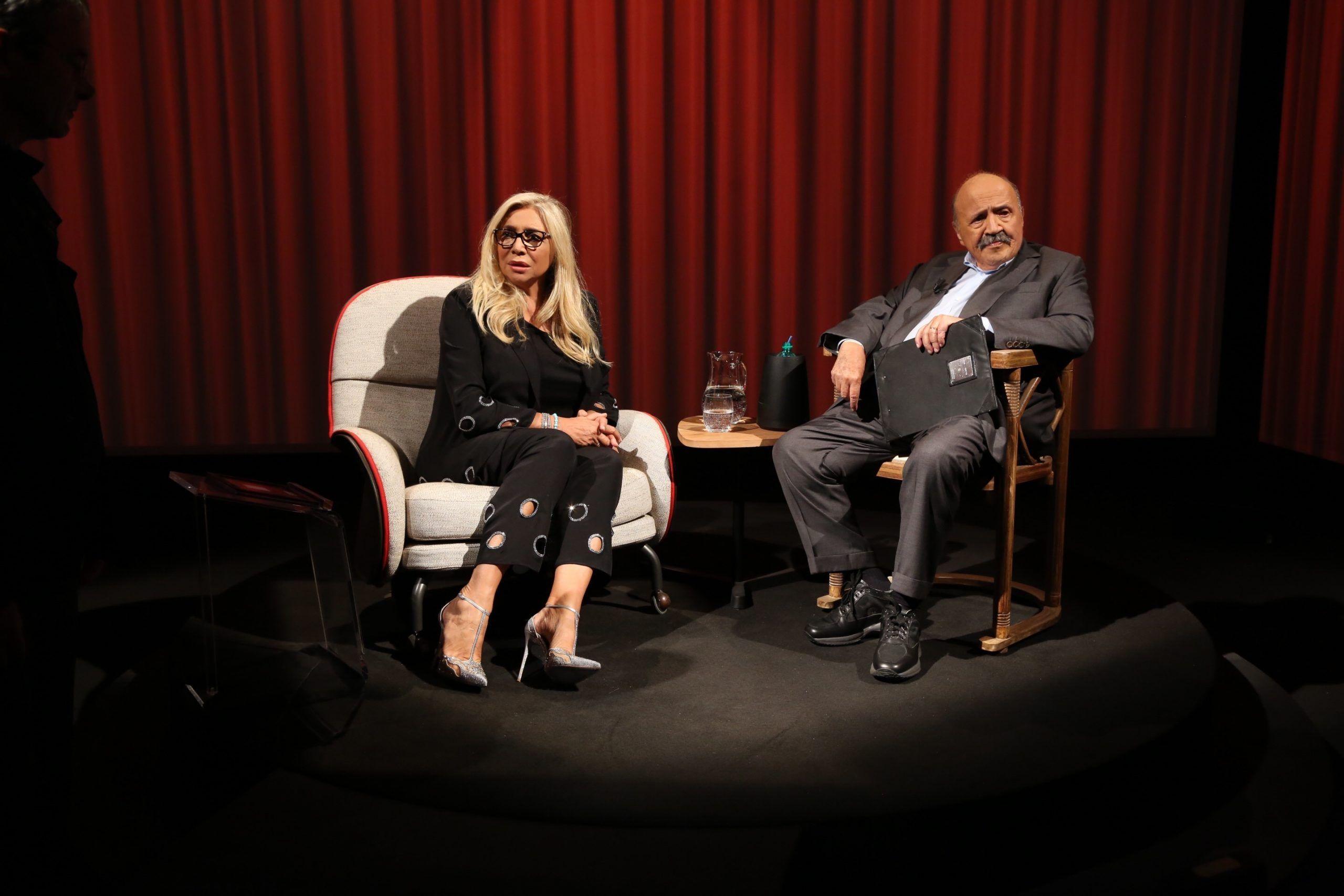 mara venier l'intervista maurizio costanzo