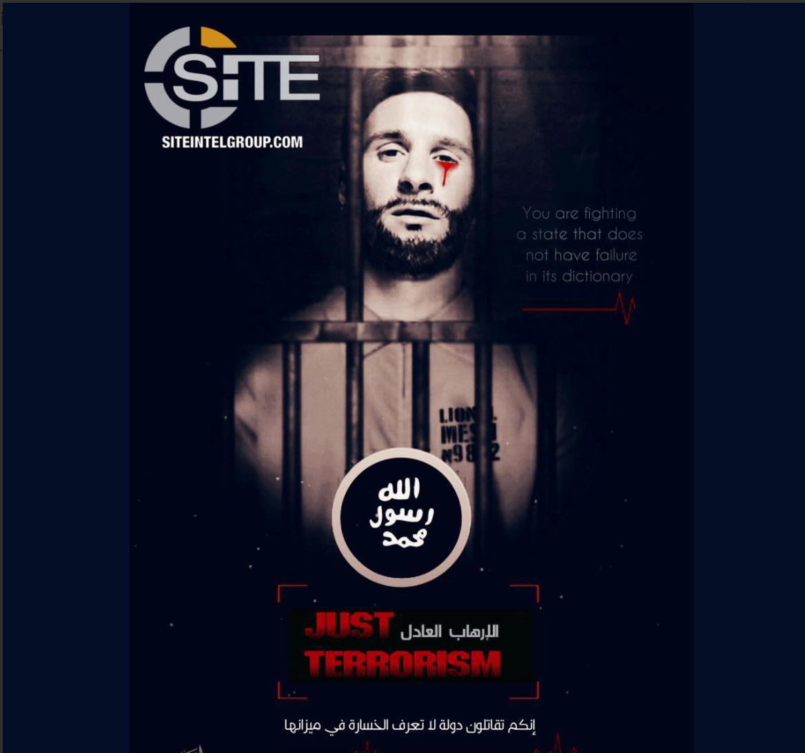 Lionel Messi con lacrime di sangue: la minaccia dell'Isis sui Mondiali 2018