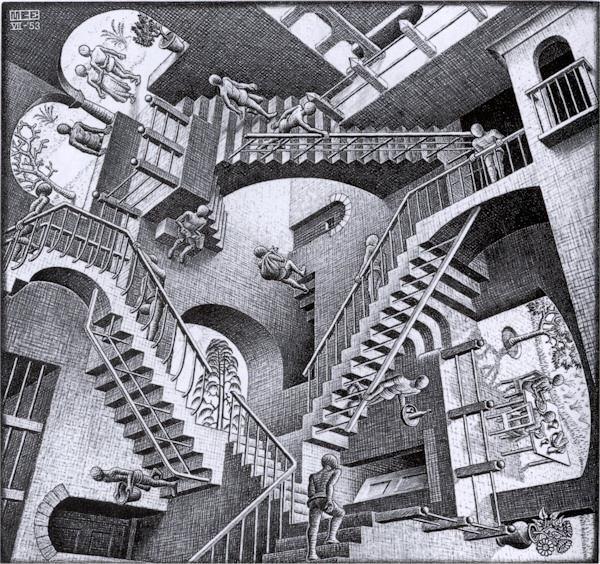 Mostra Escher Pisa: a Palazzo Blu l'arte ipnotica dell'artista olandese