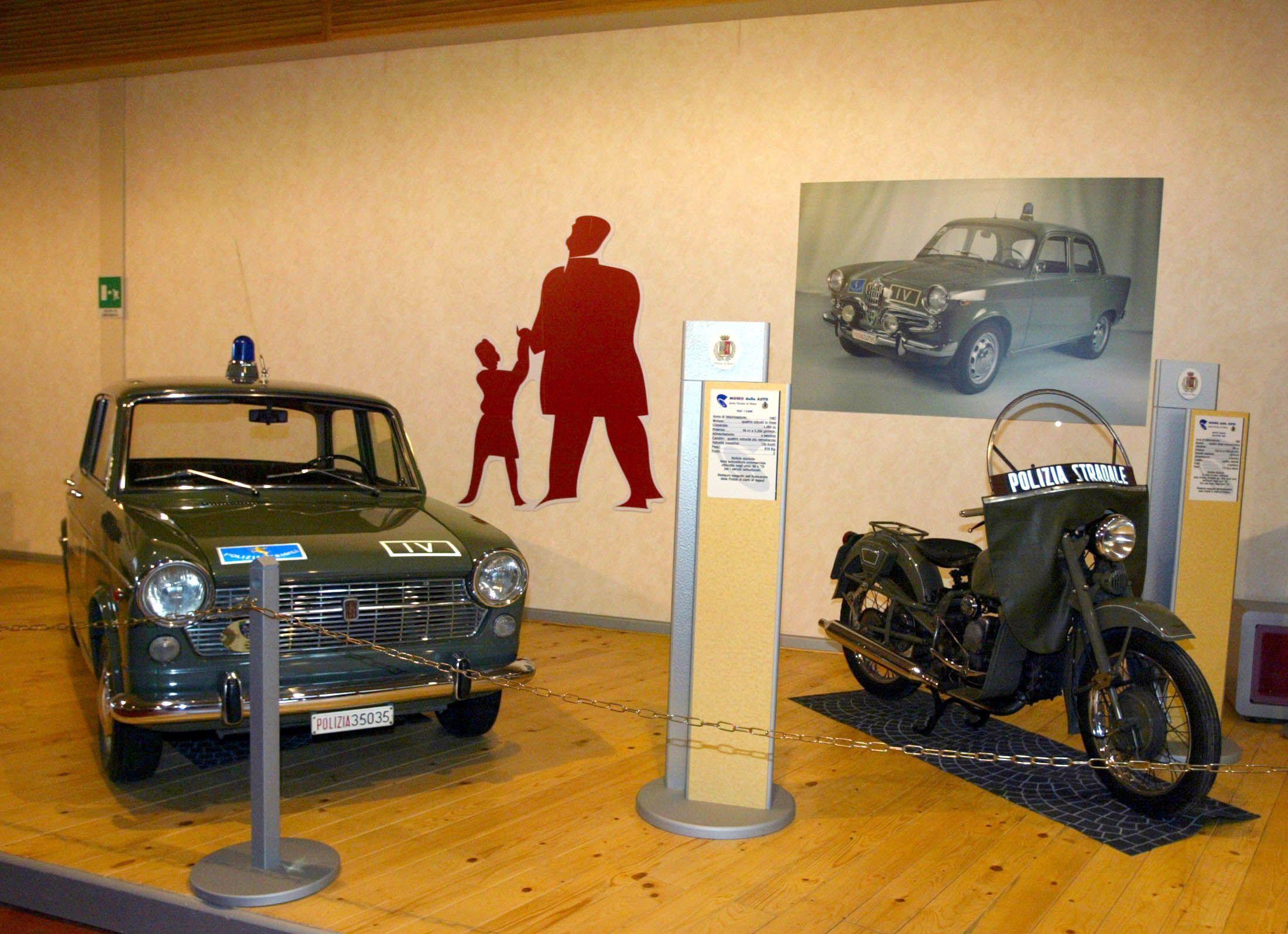 museo auto polizia roma