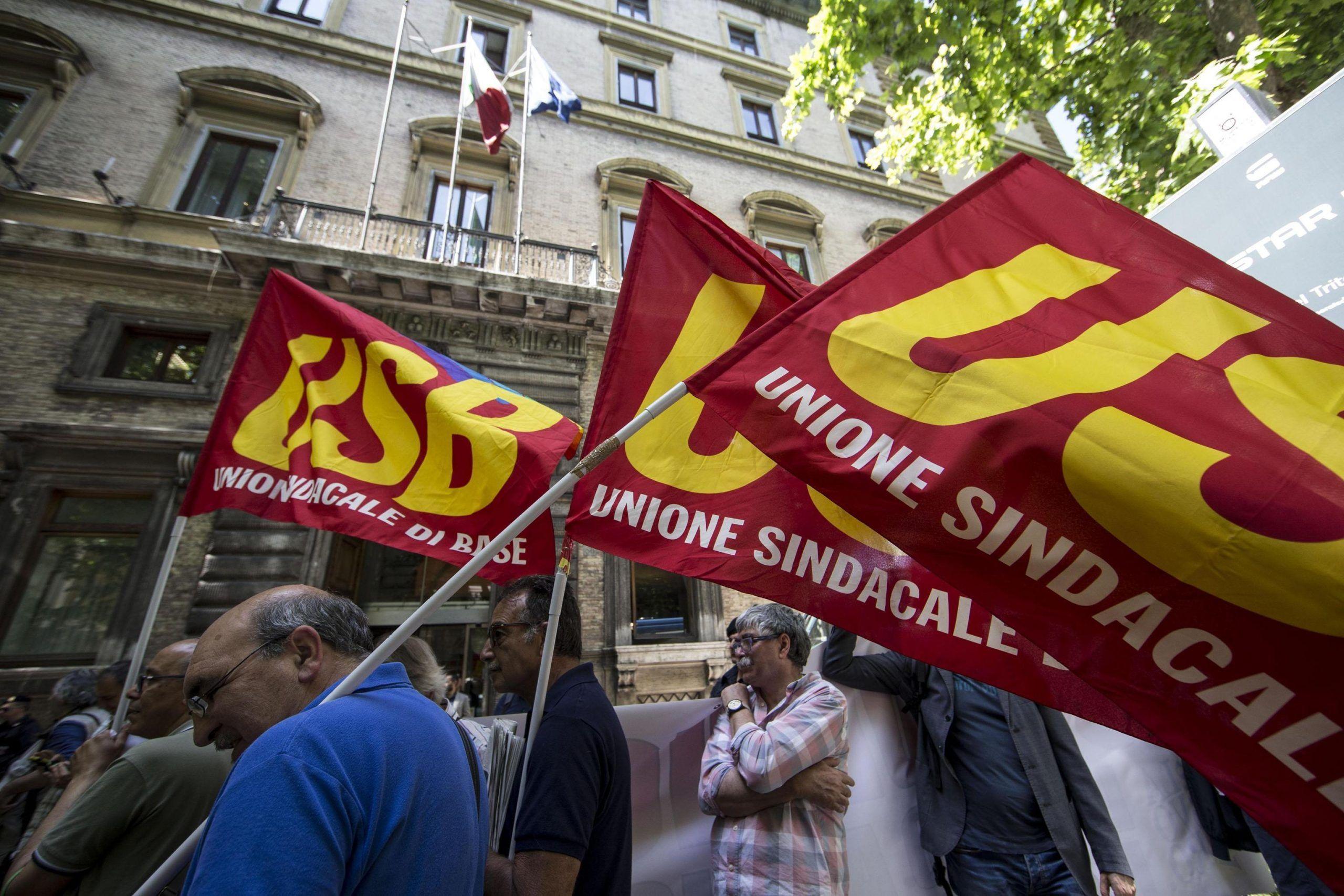 Pensioni ultimissime: manifestazione dei pensionati a Roma