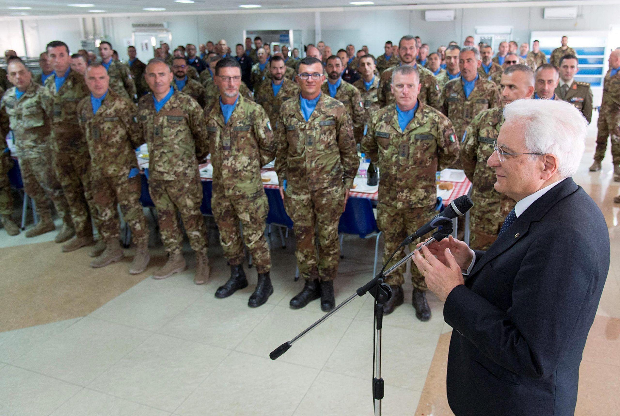 Missioni: Mattarella, soldati italiani migliori ambasciatori
