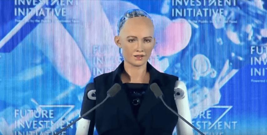 Sophia, prima donna robot al mondo con la cittadinanza in Arabia Saudita
