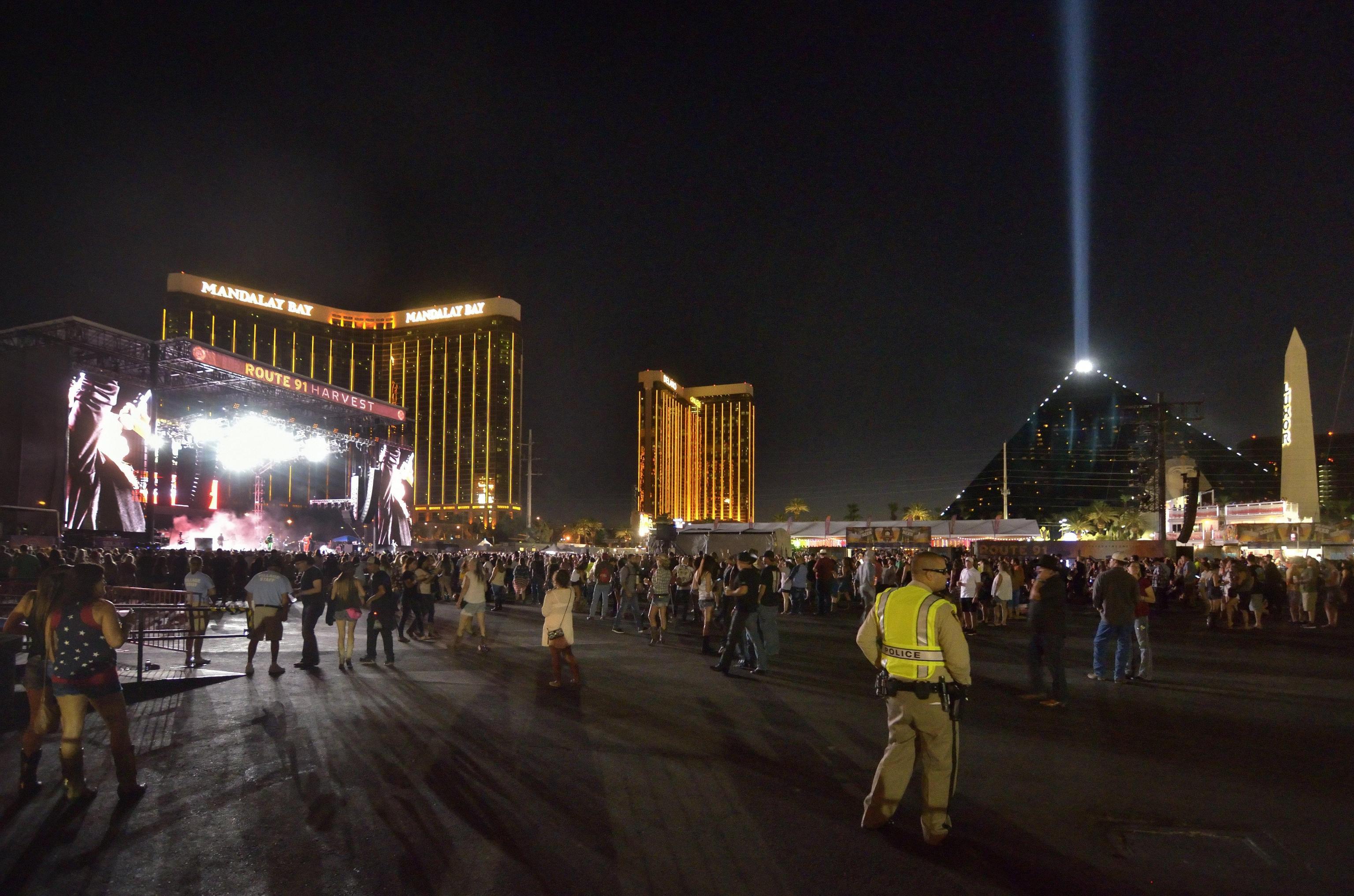 Sparatoria Las Vegas Route 91 Harvest festival