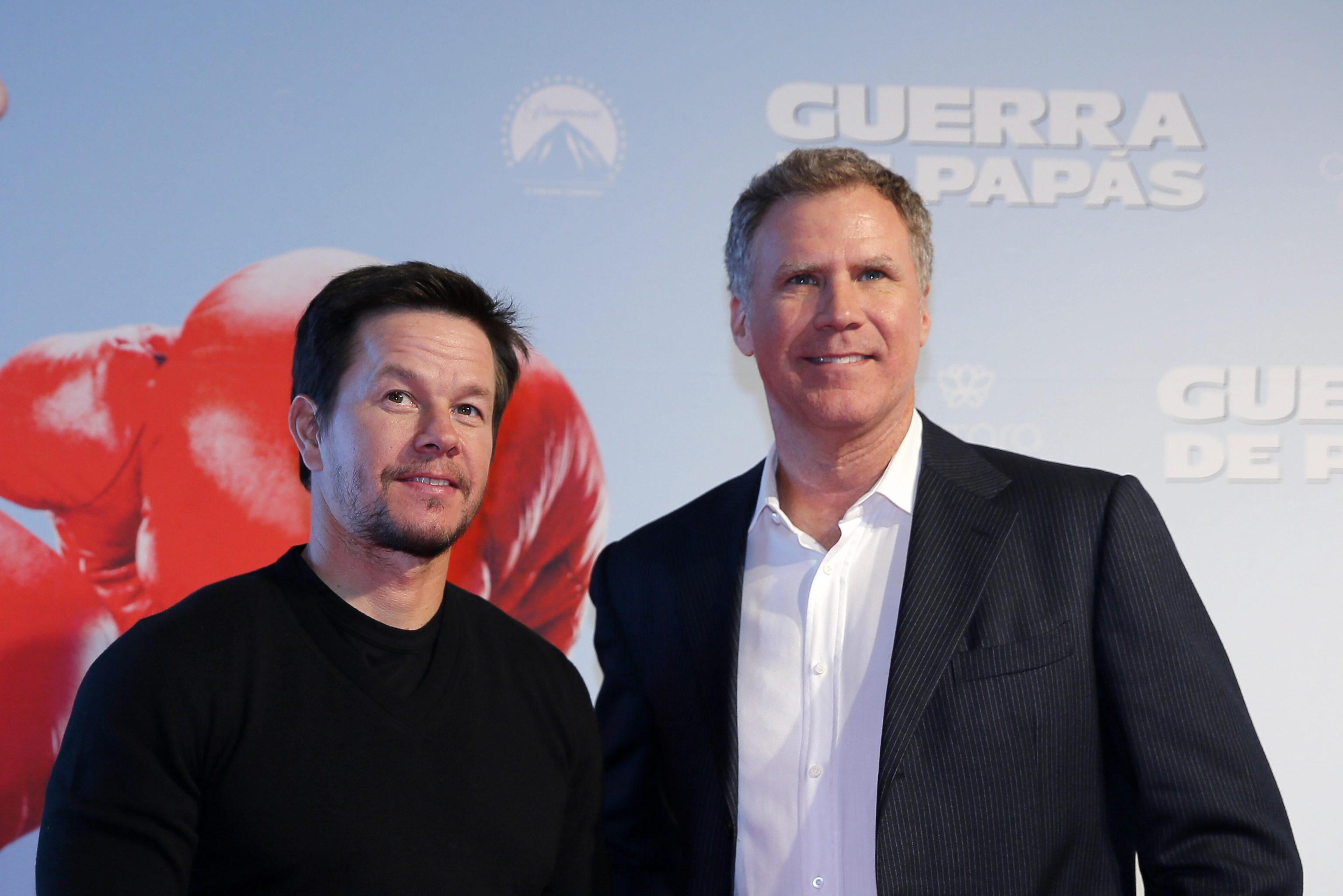 Presentation of the film Daddy´s Home in Mexico