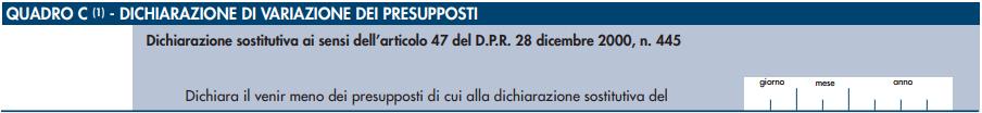 Disdetta Canone Rai Quadro C