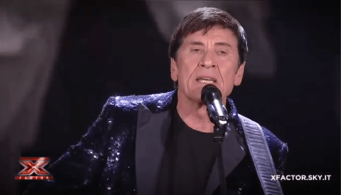 Gianni Morandi a X factor 11