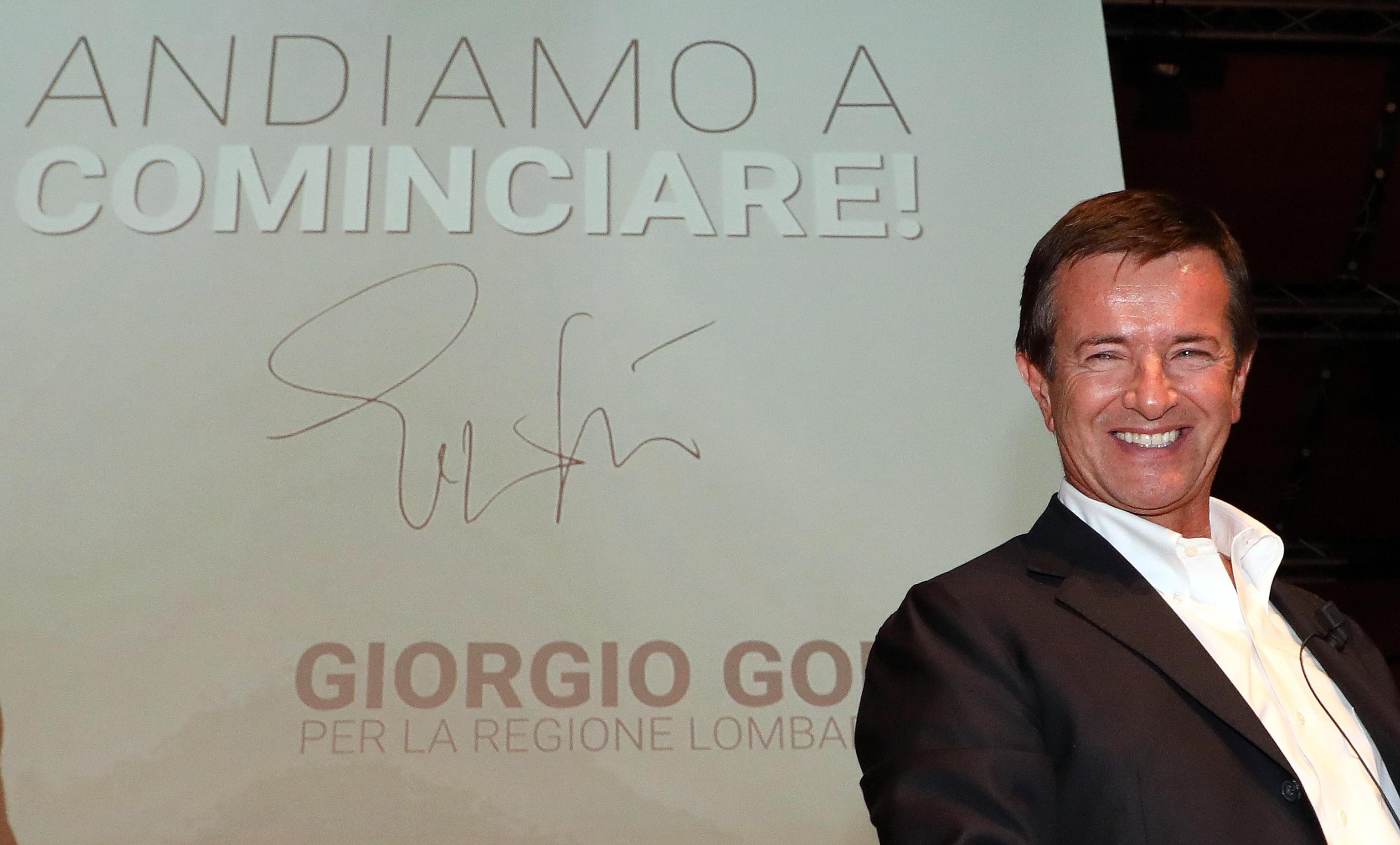 Giorgio Gori, candidato presidente alla Regione Lombardia, incontra i manager della Cida