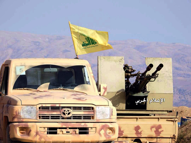 Milizie di Hezbollah in Siria contro l'Isis