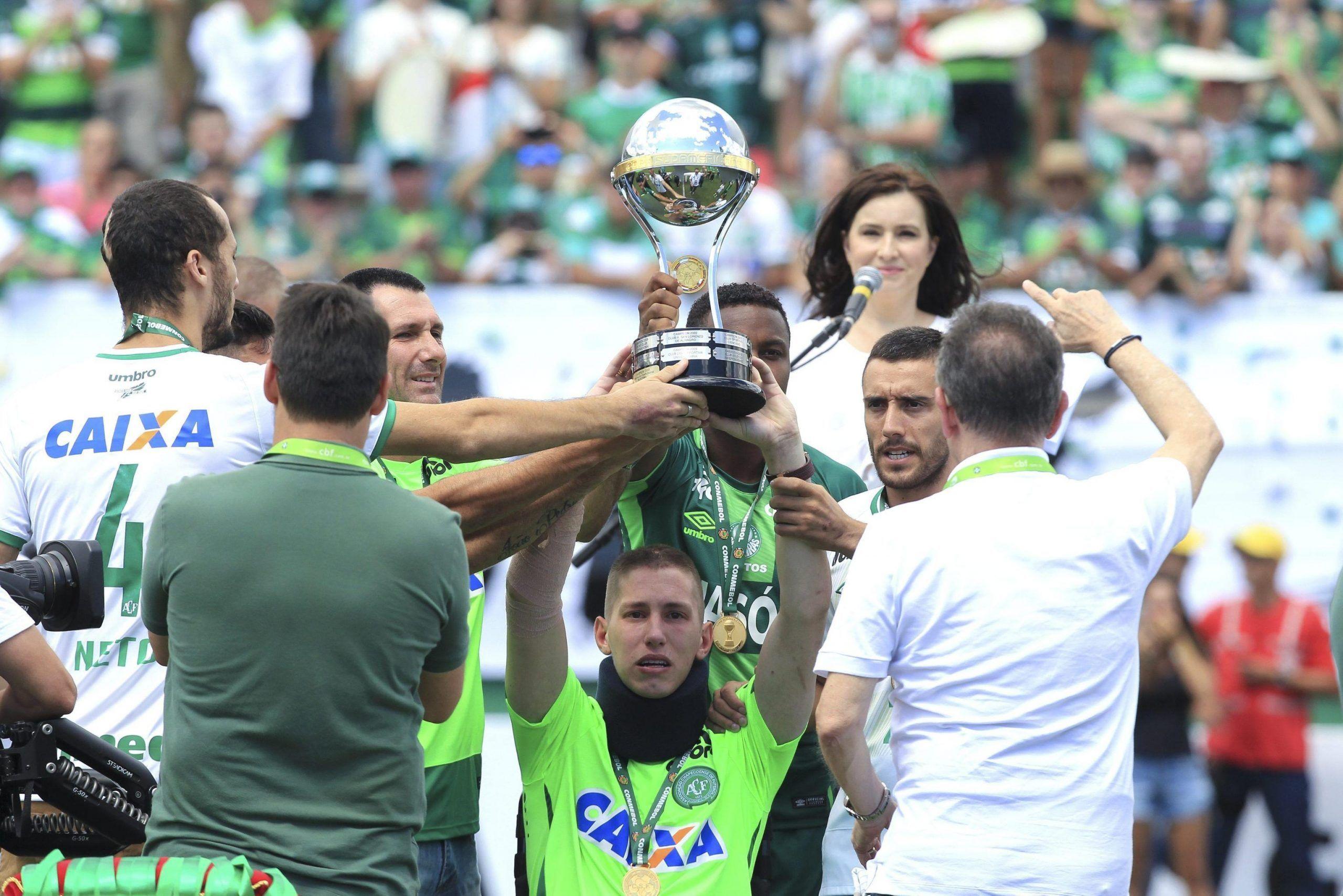 Friendly match between Chapecoense and Palmeiras