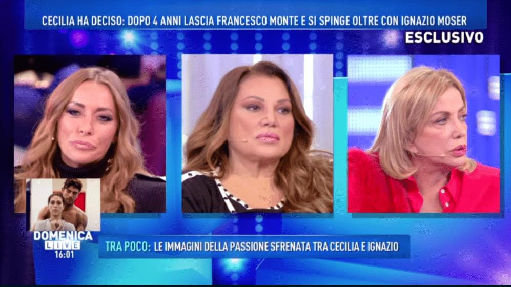 Domenica Live, Karina Cascella su Cecilia e Ignazio: 'Non siamo bestie!'
