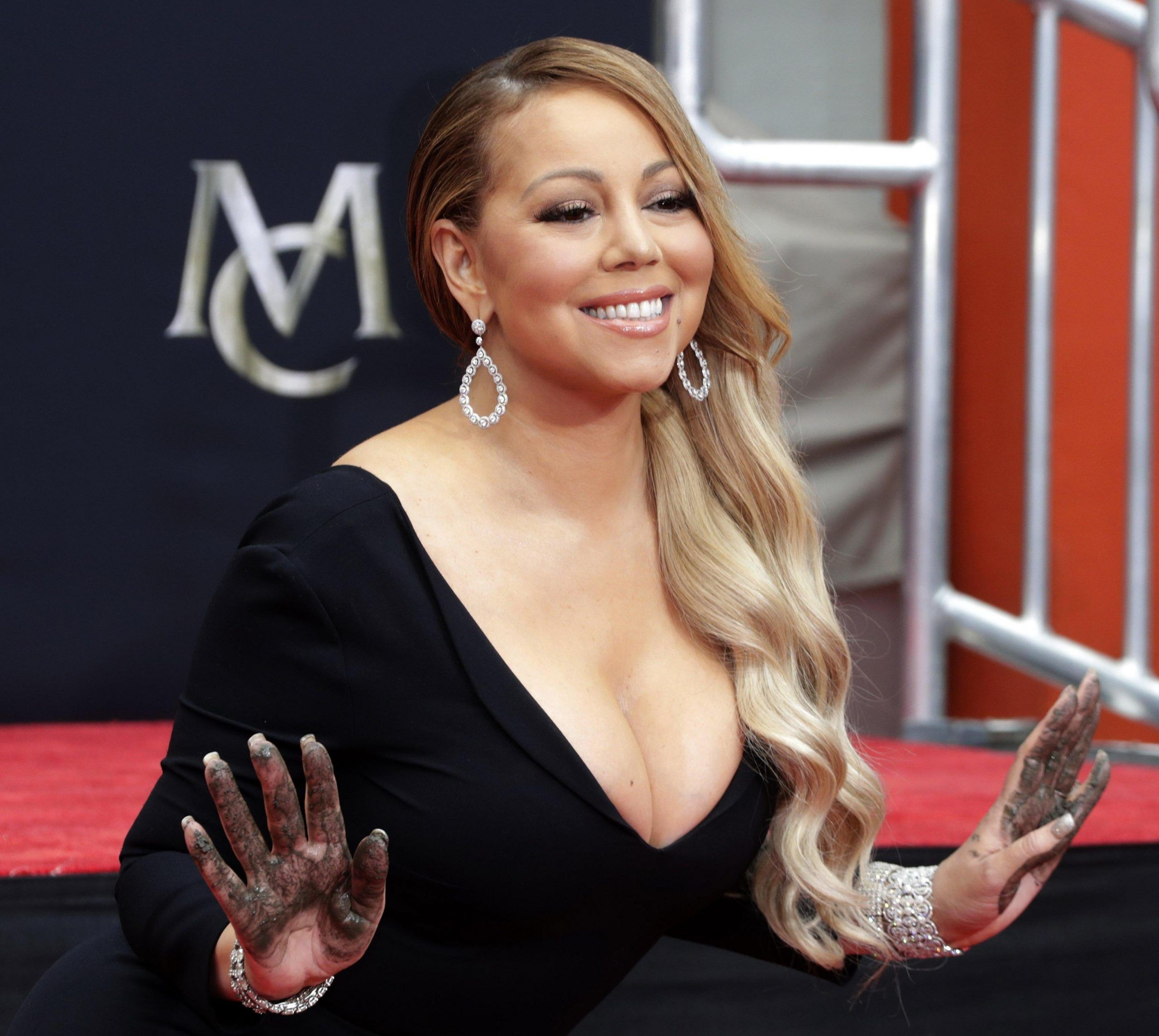 Mariah Carey honored with Hollywood handprint ceremony