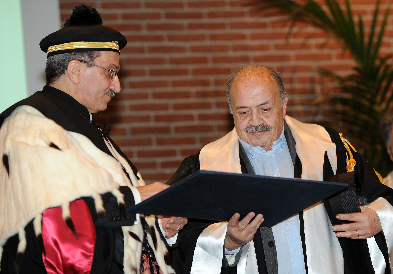 Maurizio Costanzo laurea honoris causa