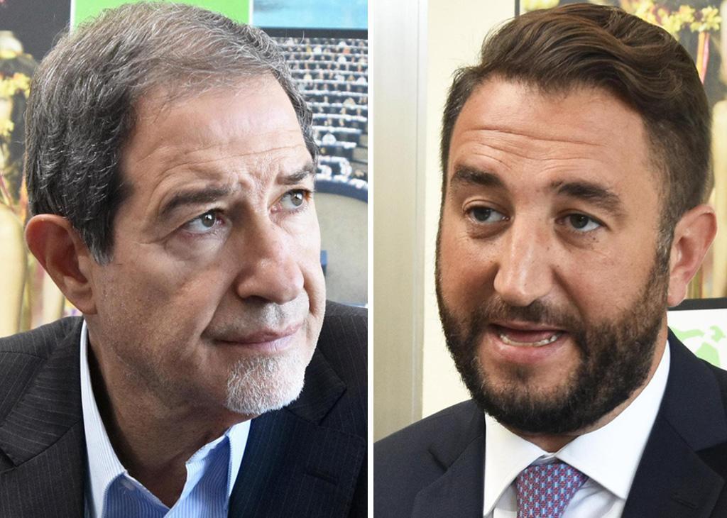 Da sinistra: Nello Musumeci e Giancarlo Cancelleri
