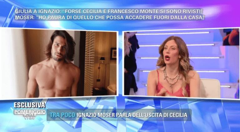 Pomeriggio 5, Paola Caruso innamorata di Luca Onestini: 'E' un bambaccione come me!'