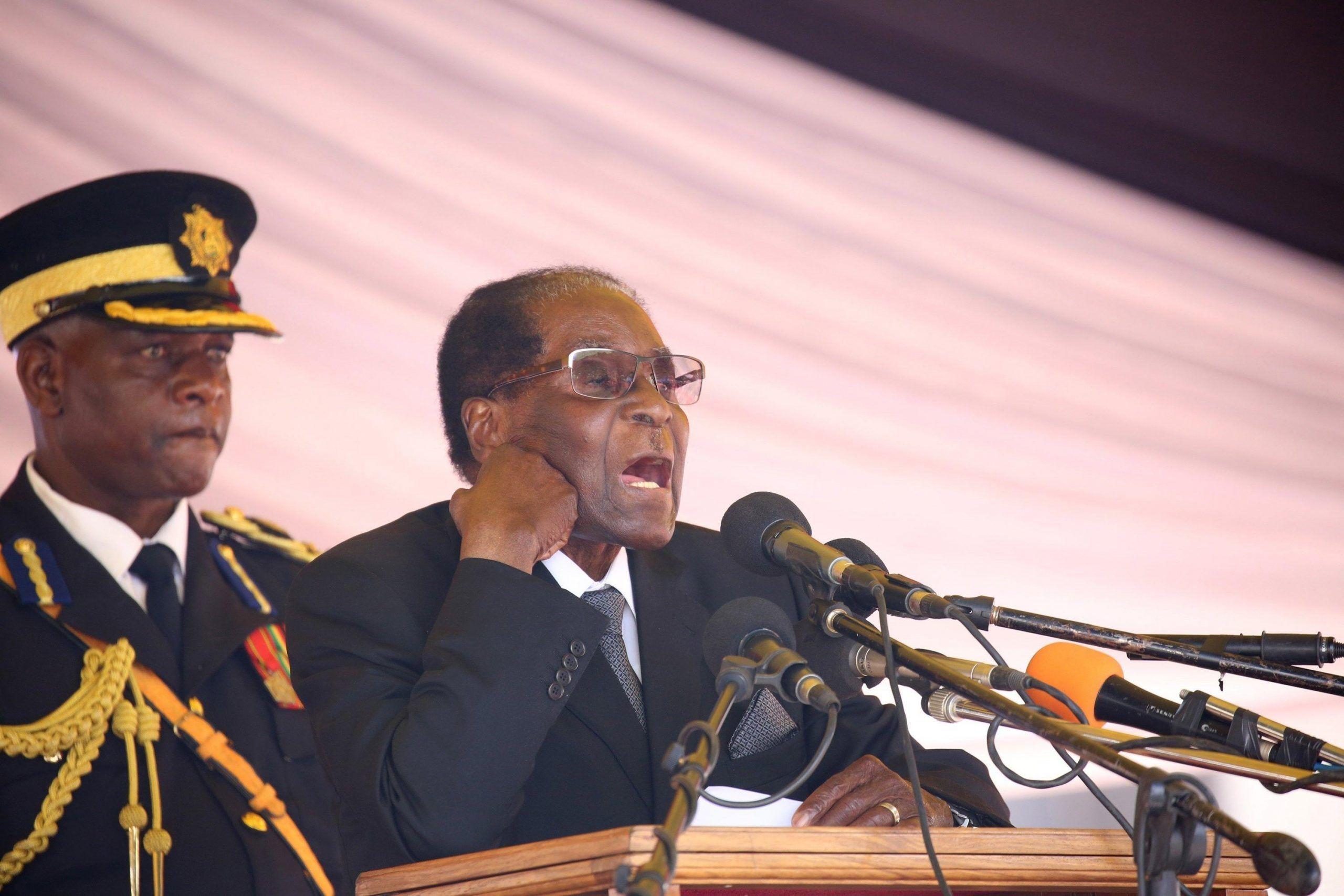 Burial of Zimbabwe liberation war hero Don Muvuti