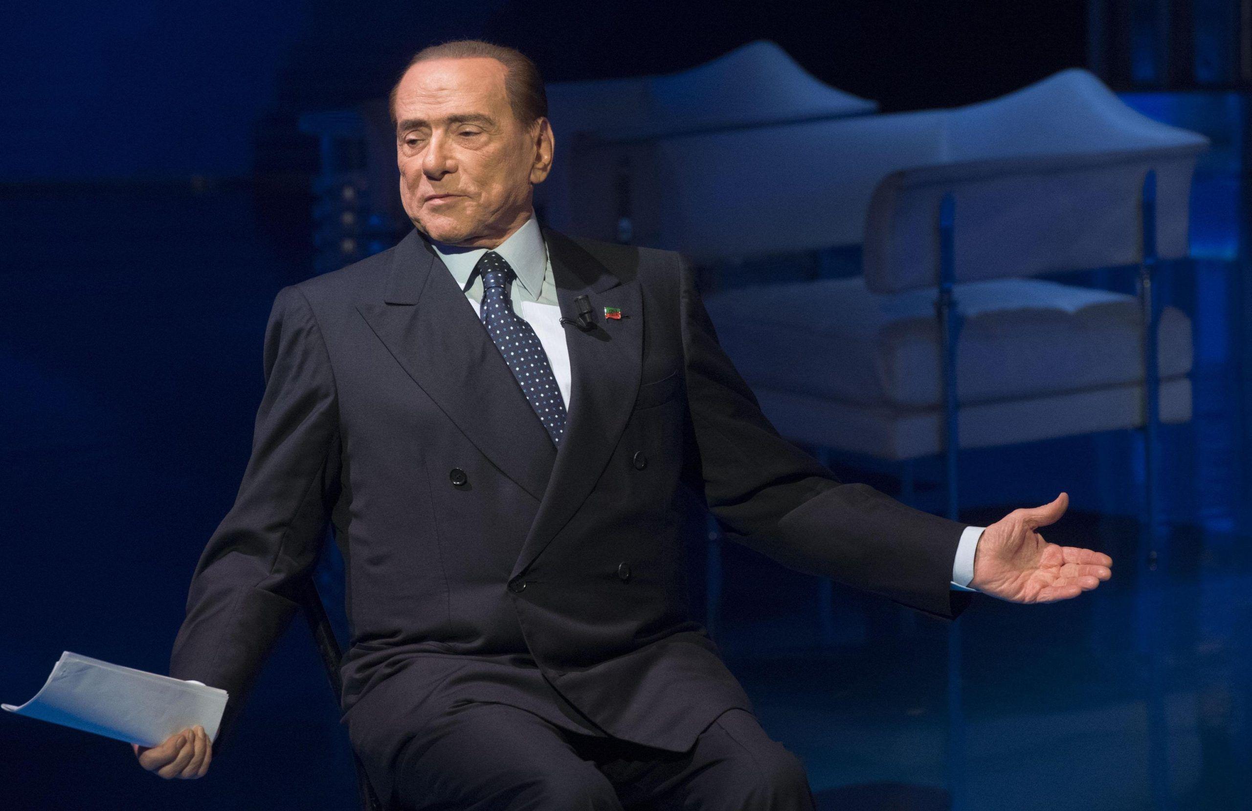 Silvio Berlusconi Rai TV program 'Porta a porta'