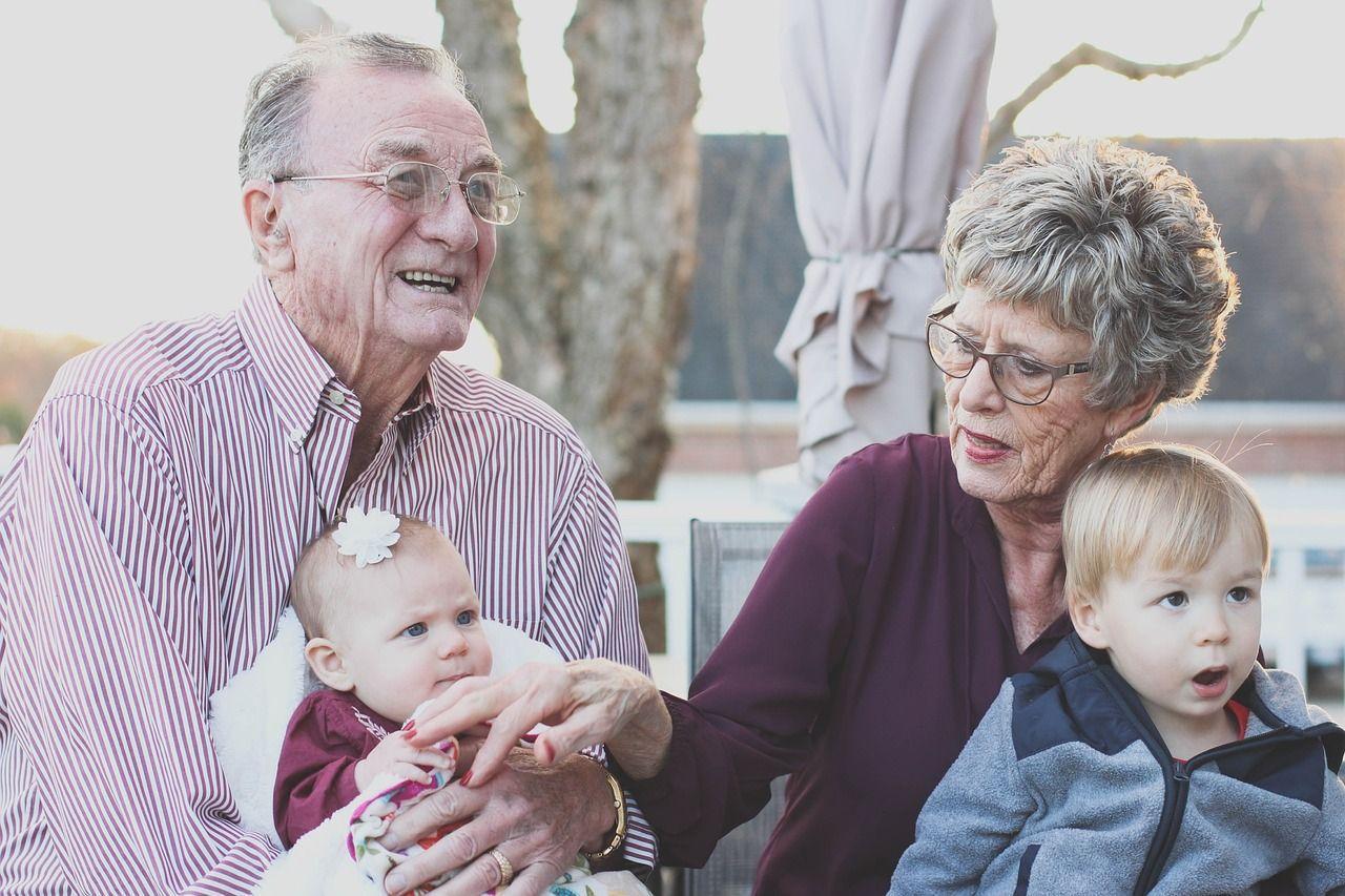Suocera e nipoti