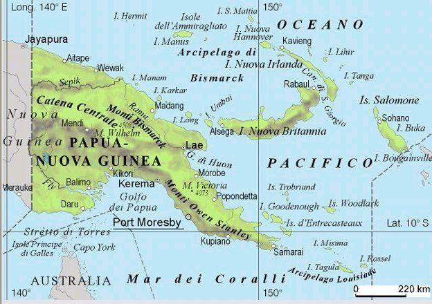 Terremoto in Papua Nuova Guinea: violenta scossa di magnitudo 6.5