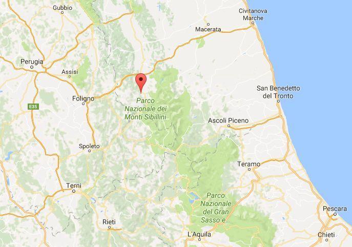 Terremoto nelle Marche, oggi 03/11/2017: colpita la provincia di Macerata