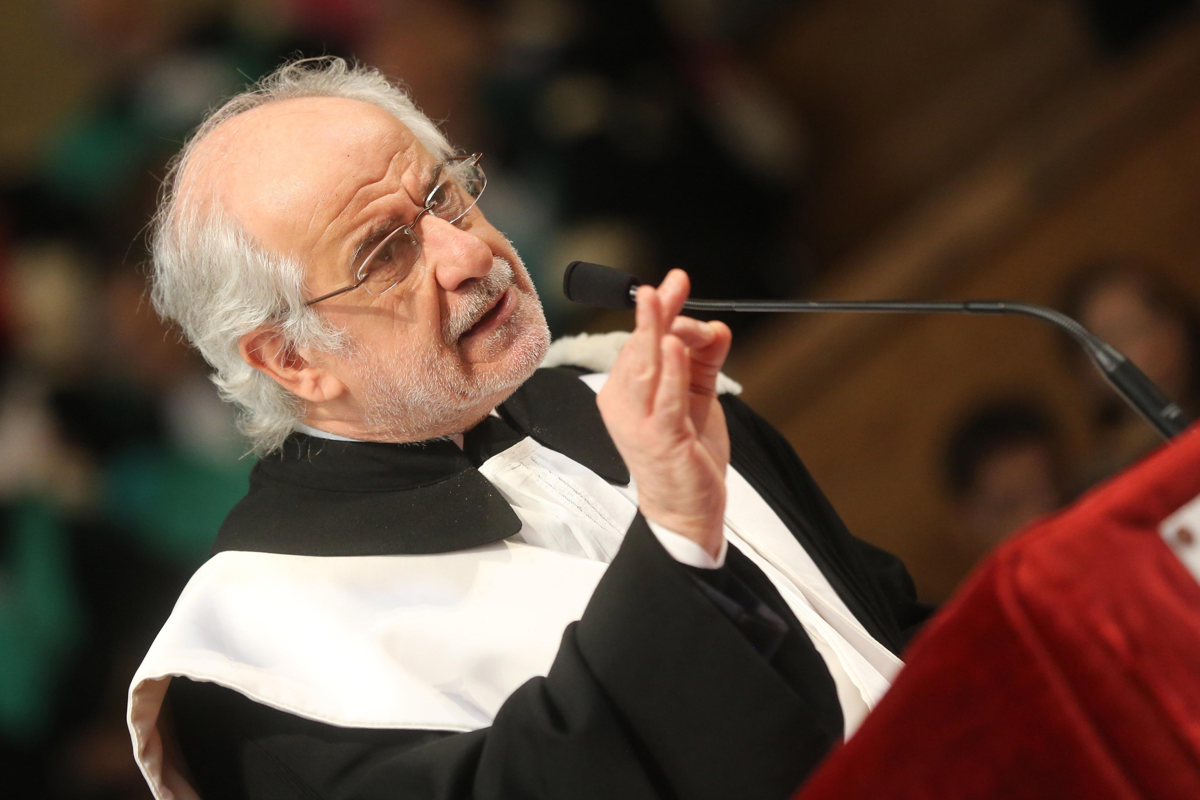 Toni Servillo laurea honoris causa
