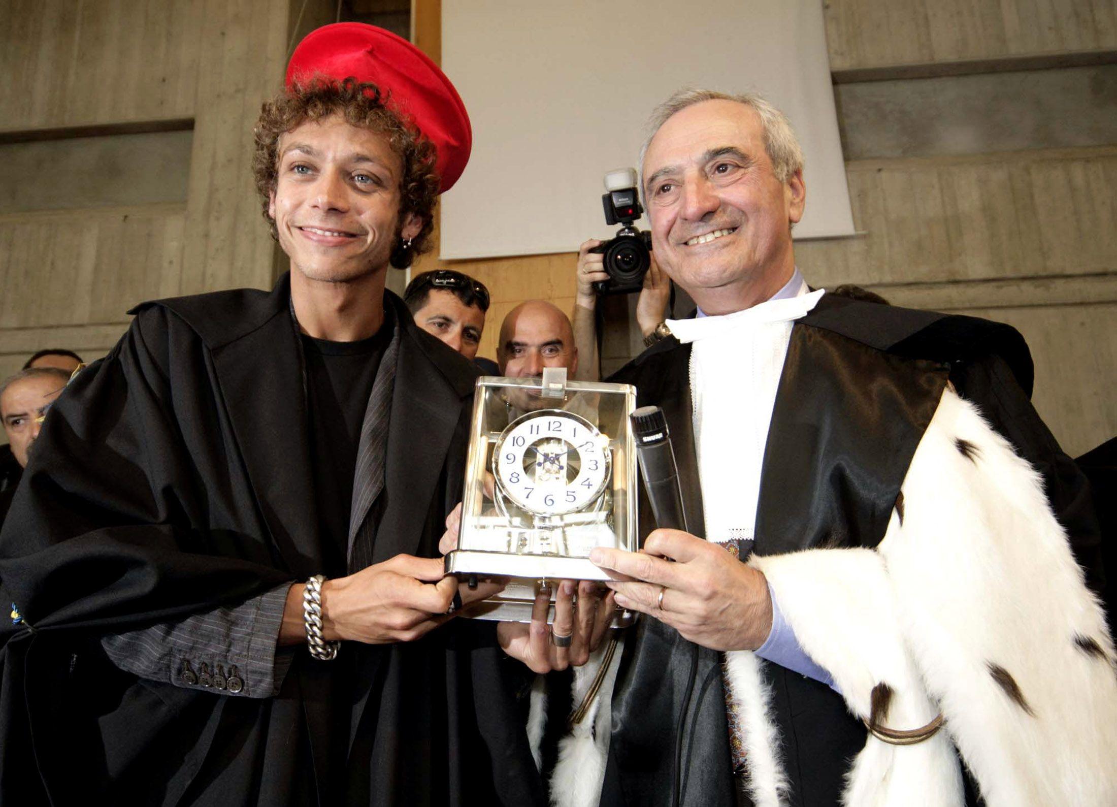 Valentino Rossi laurea honoris causa