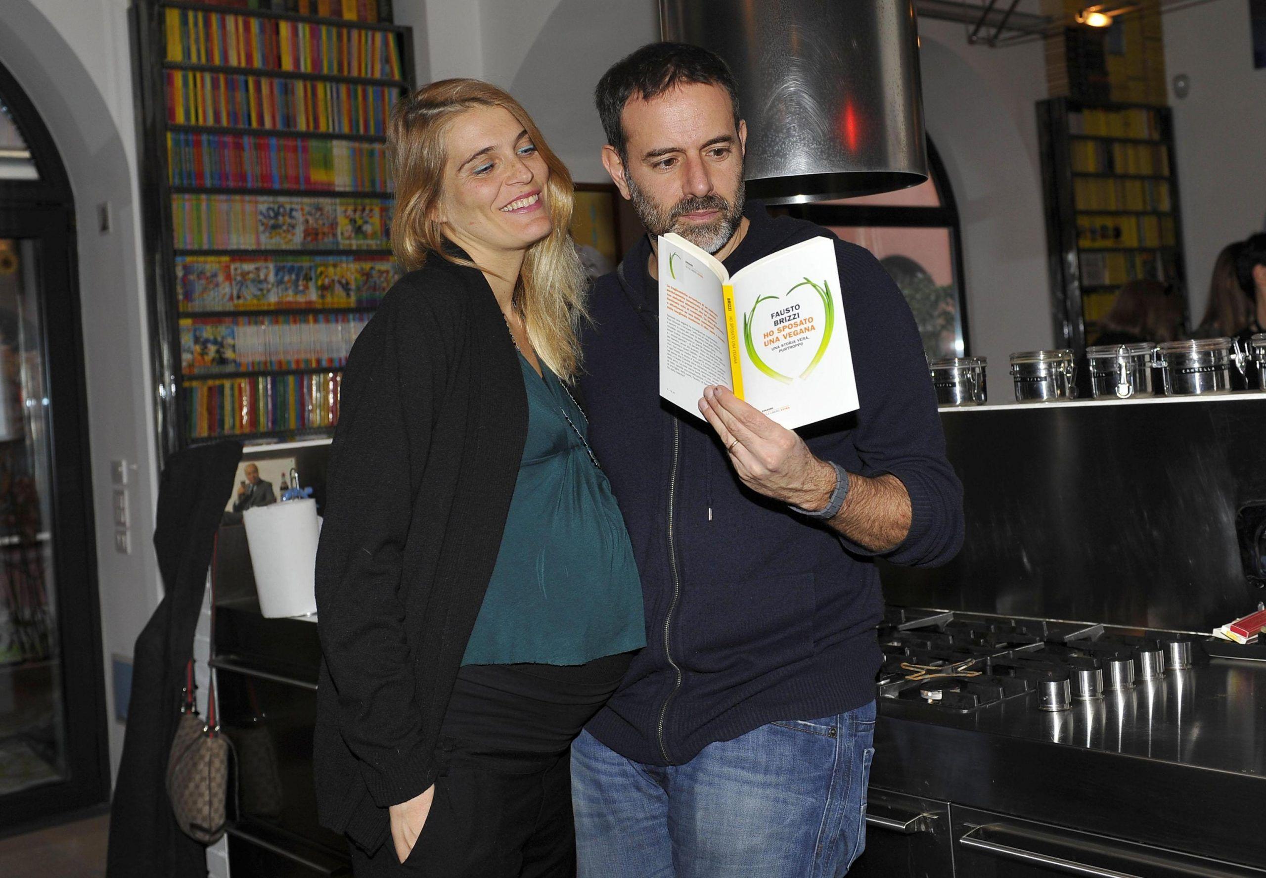 Presentazione libro Fausto Brizzi ''Ho sposato una vegana''