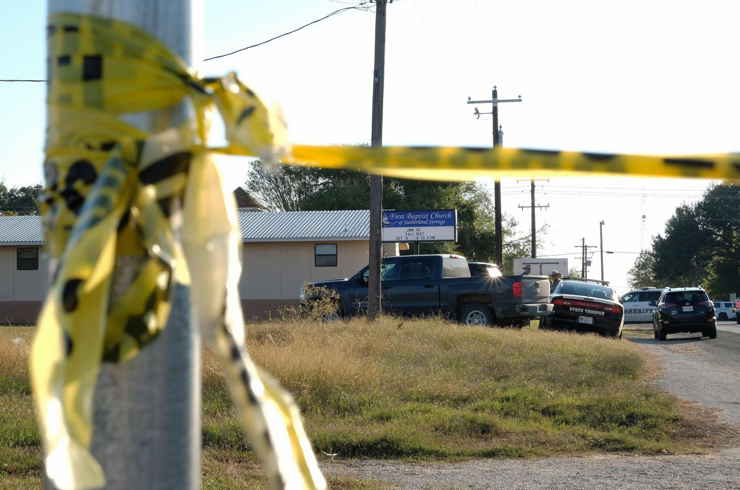 Mass shooting at baptist church in Sutherland Springs, Texas