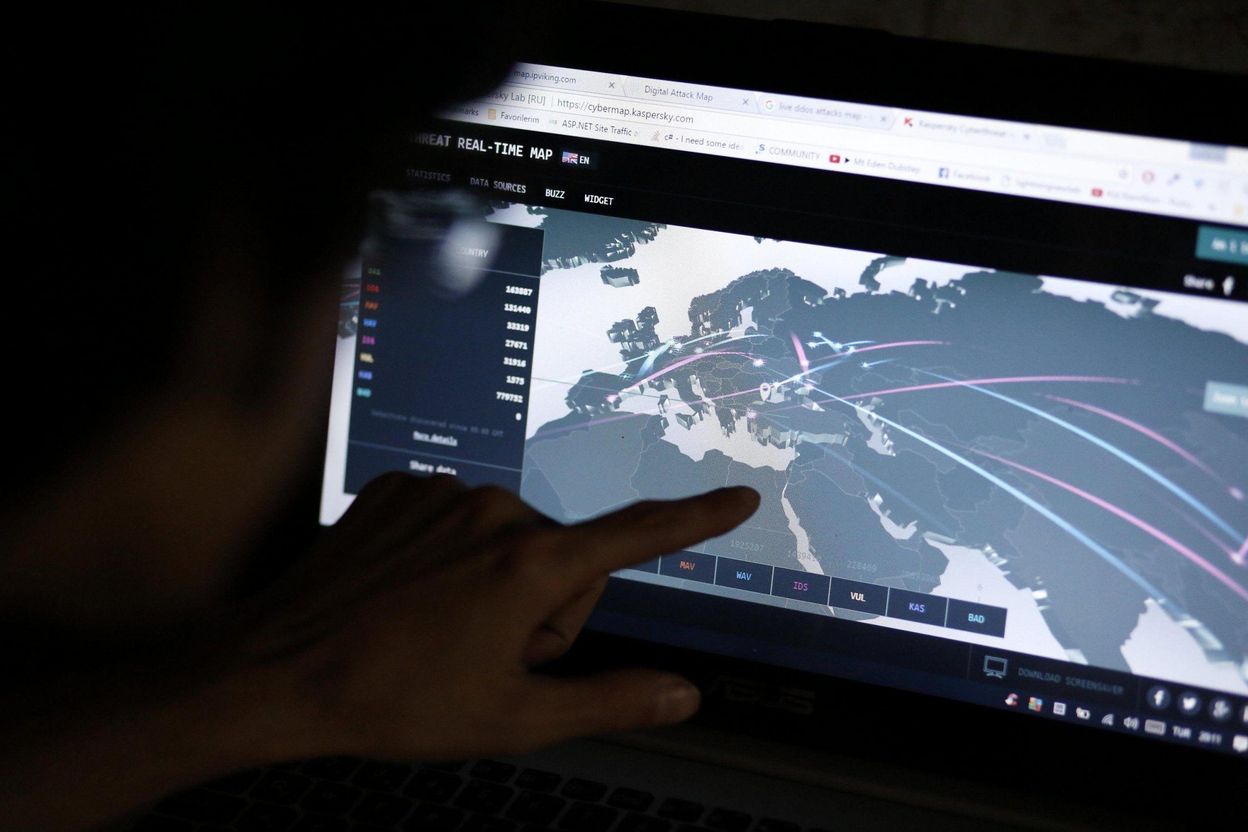 Reports: cyber attacks around the globe