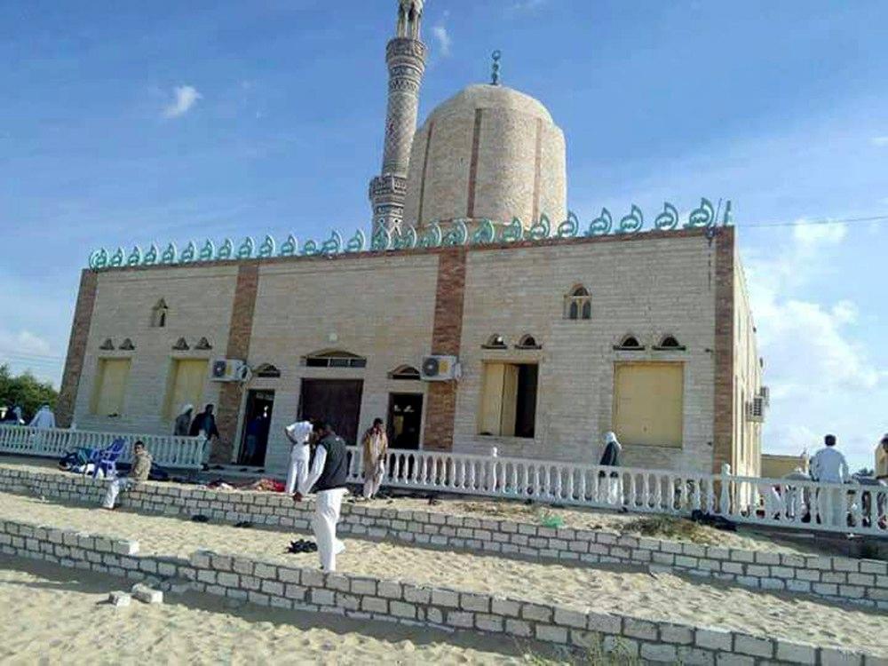 La moschea luogo dell'attentato