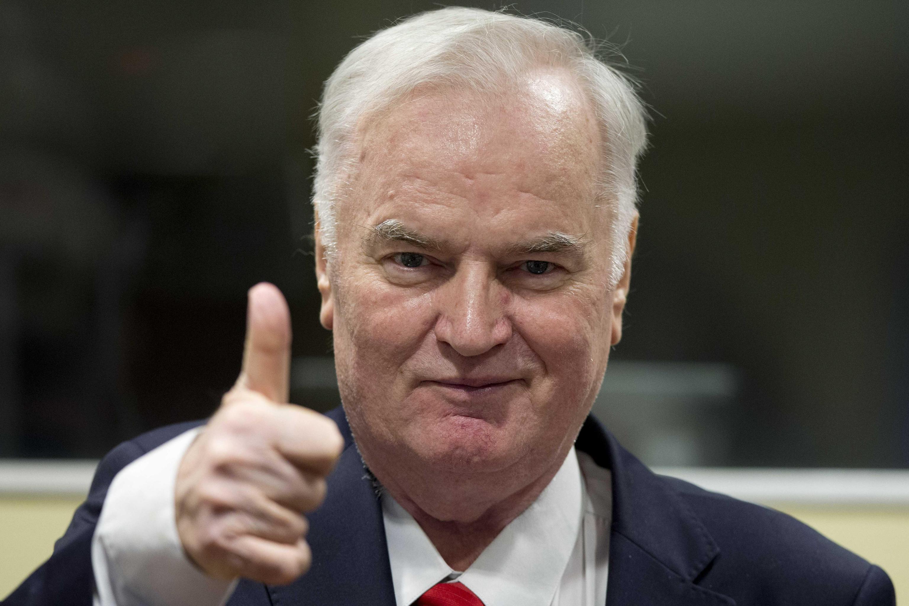 Mladic Yugoslav War Crimes Tribunal