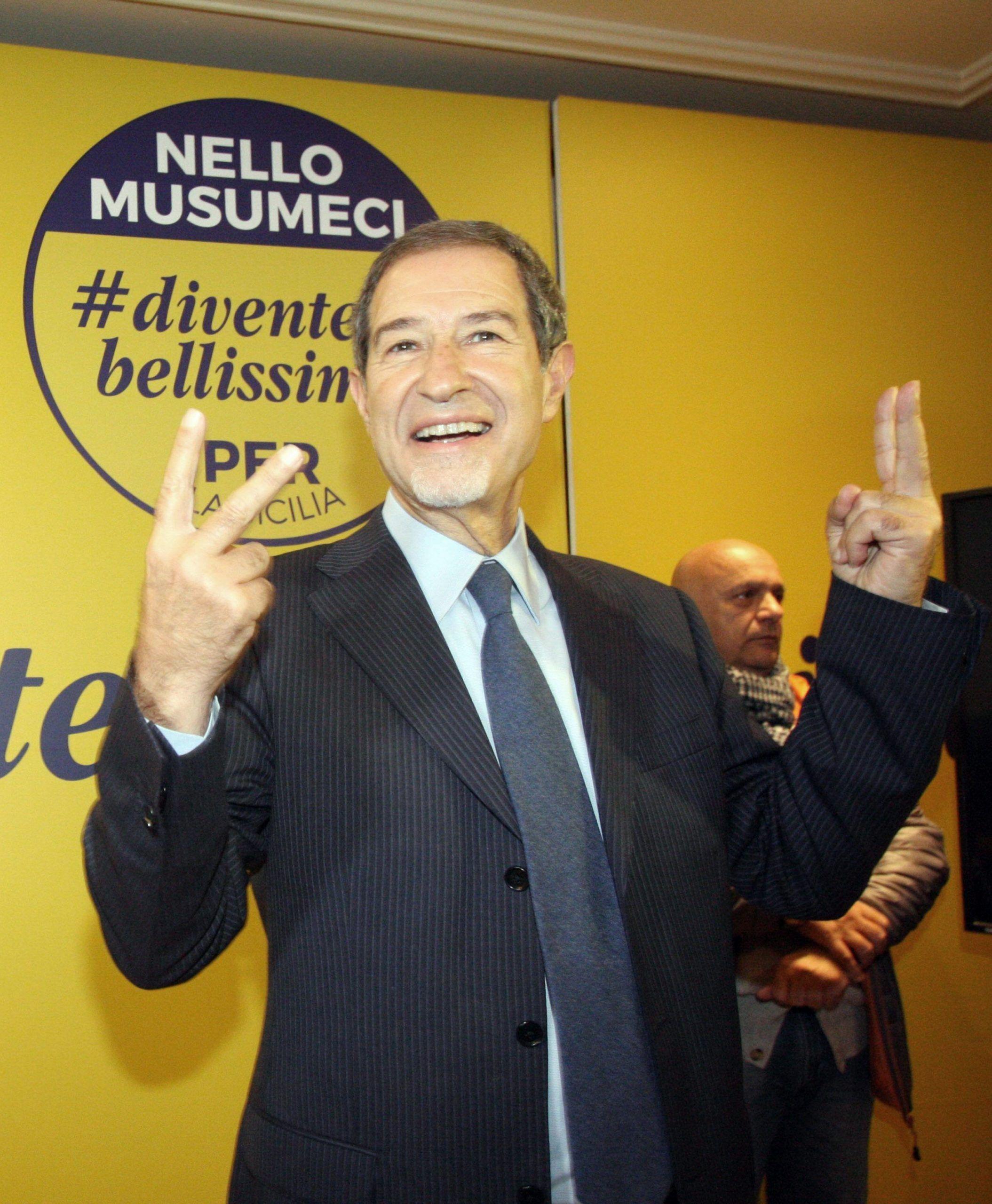 Sicilia vince Musumeci