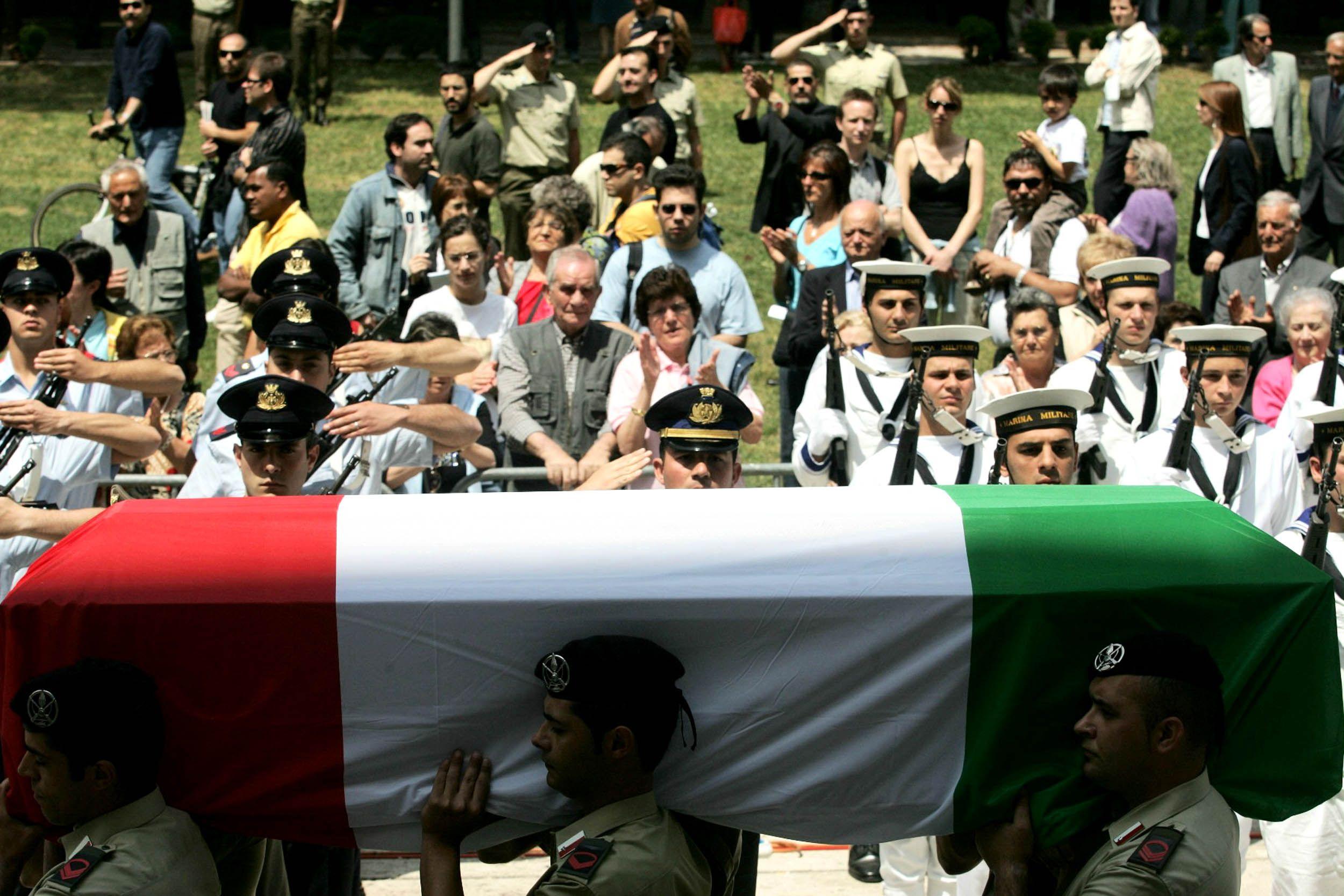 PICCHETTO D'ONORE funerali