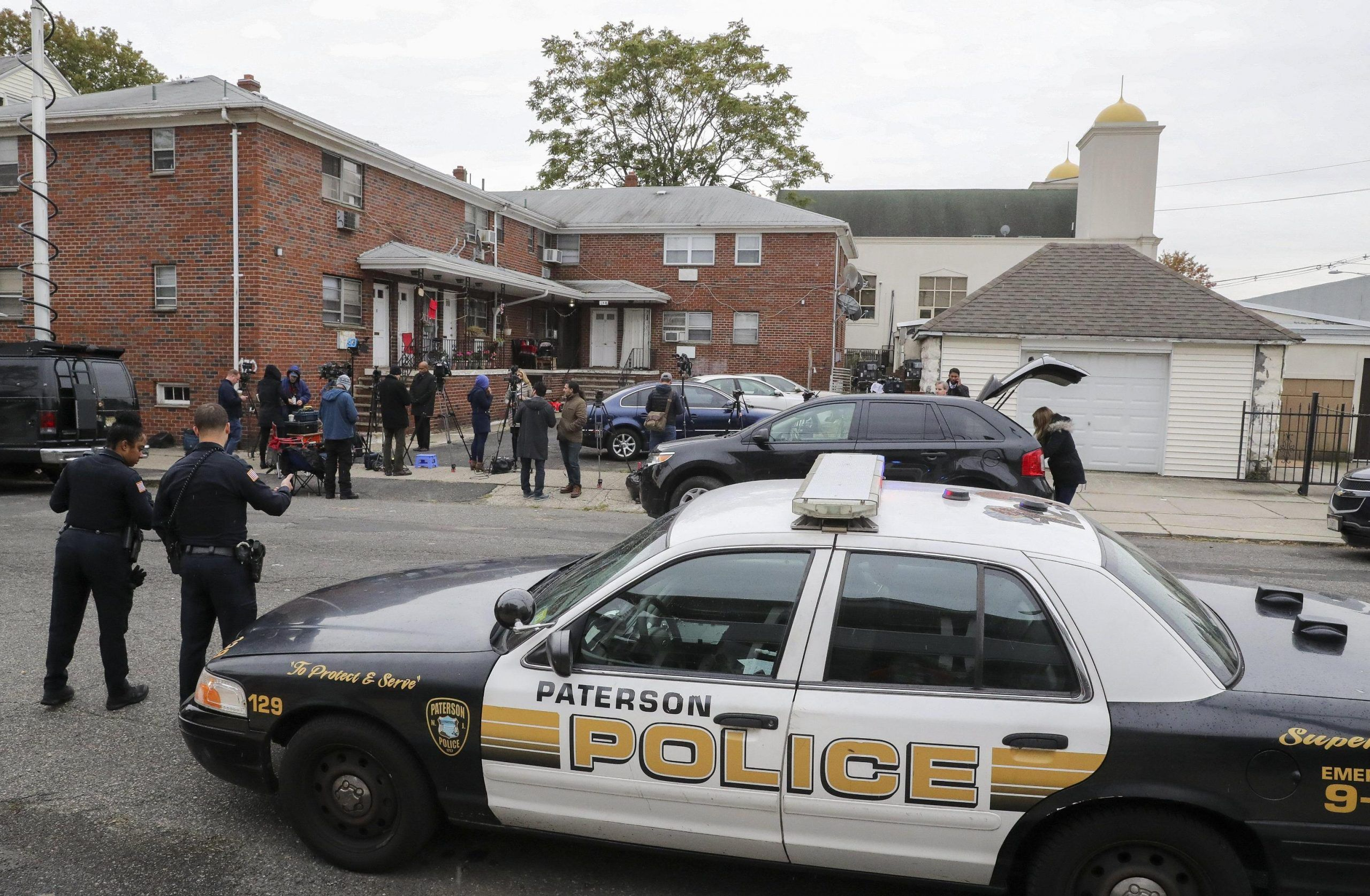 Truck attack suspect sites in Paterson, New Jersey, USA