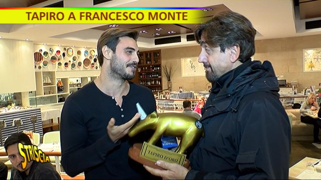 Tapiro d'oro a Francesco Monte: 'Il tradimento di Cecilia Rodriguez? Difficile da perdonare'