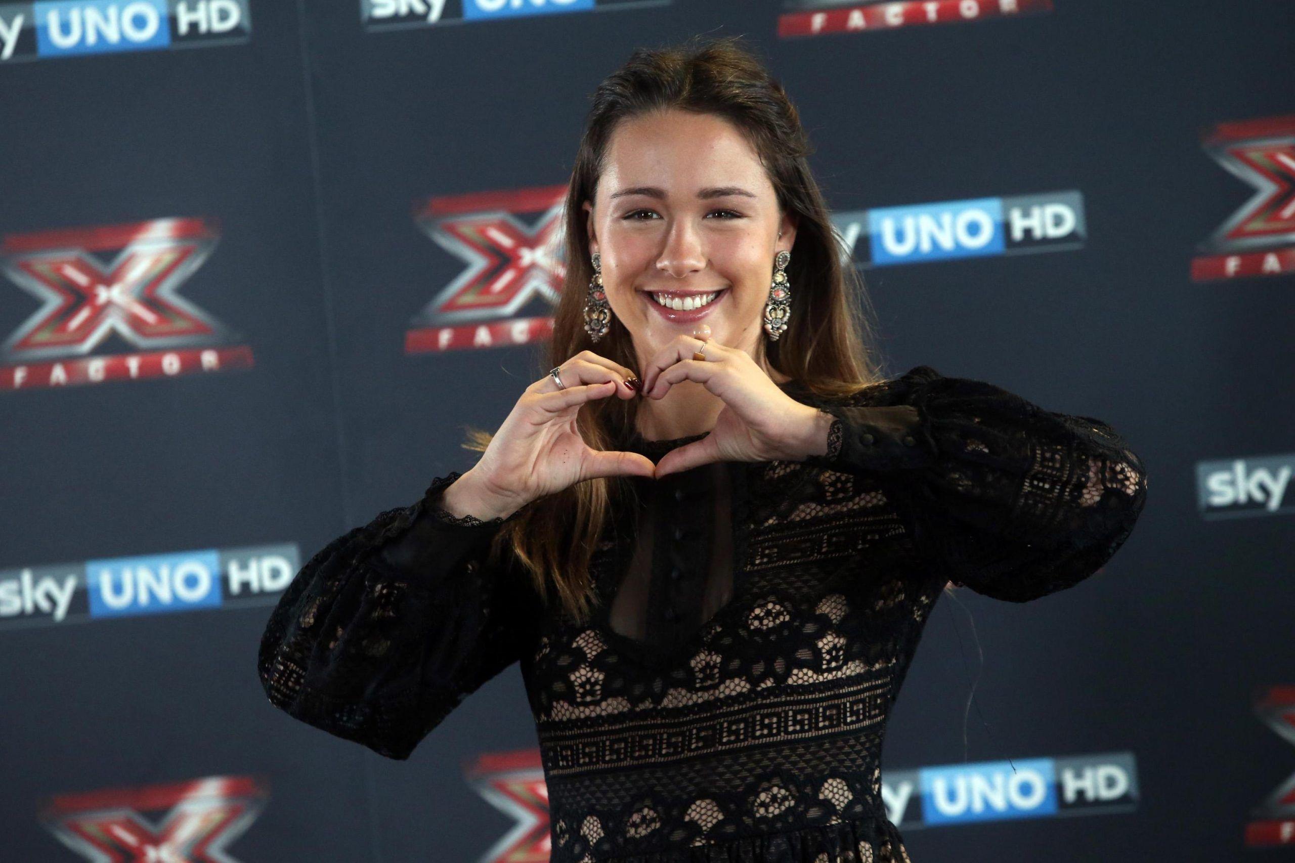 Presentazione di 'X Factor 2016 Il live', Aurora Ramazzotti