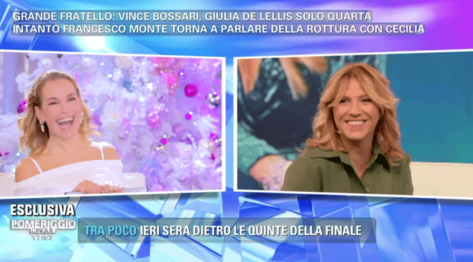 Pomeriggio 5, Barbara D'Urso su Francesco Monte: 'Lui è un vero uomo!'