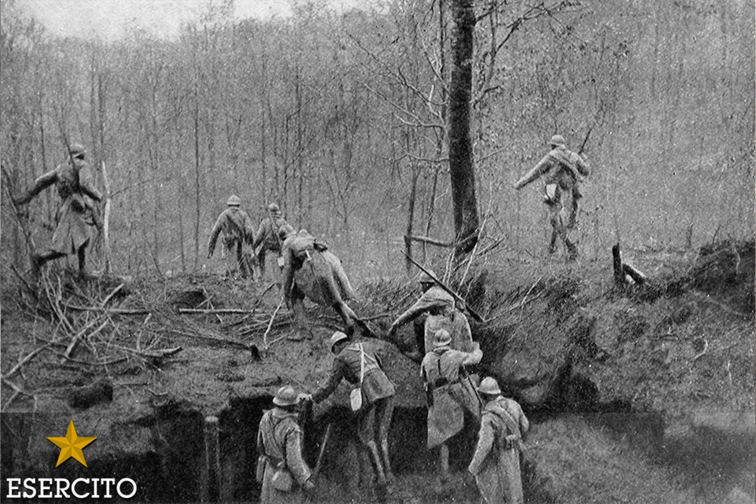 Foto della mostra sulla prima guerra mondiale