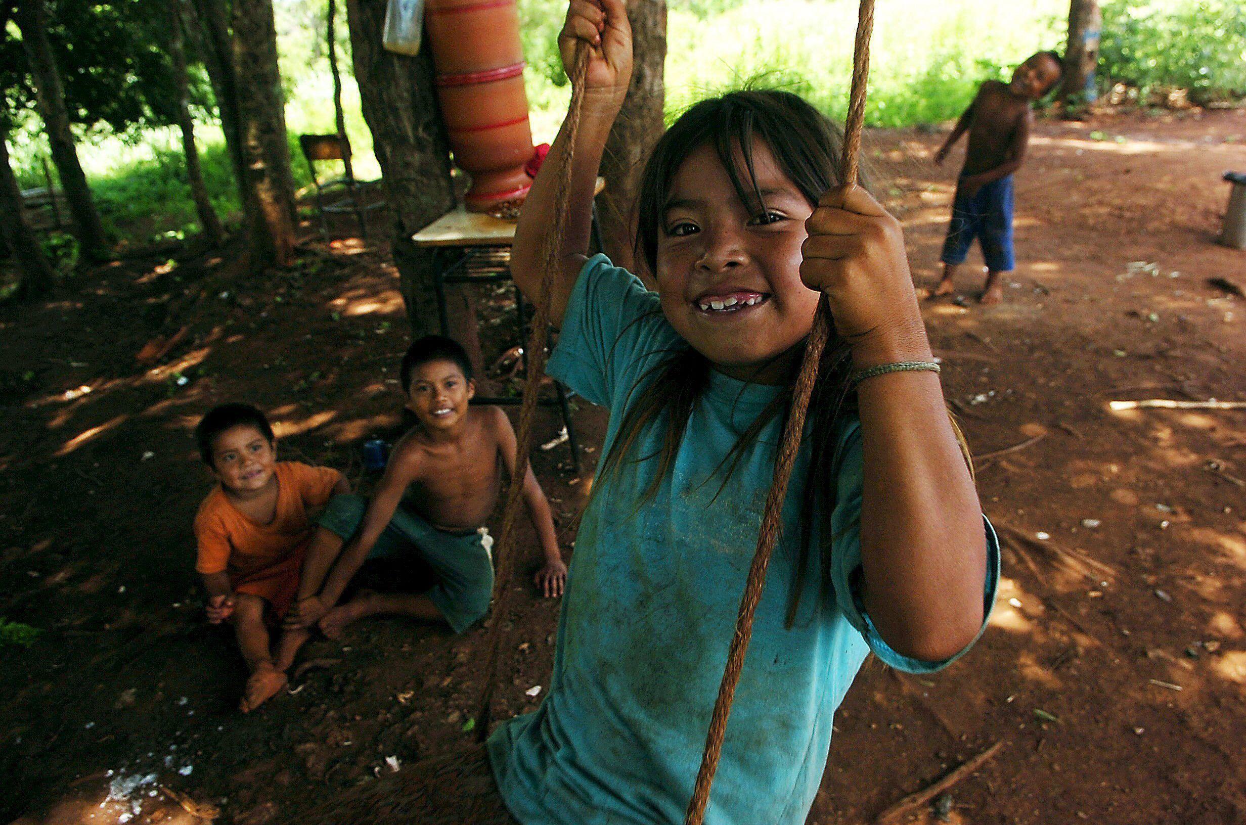 Guarani tribe in Brazil