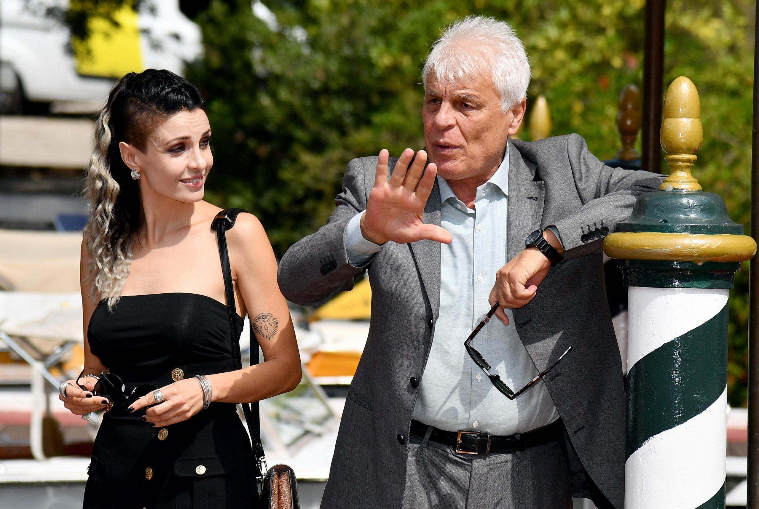 Michele Placido con Federica Vincenti
