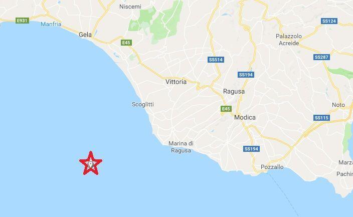 Terremoto in mare, al largo della Sicilia: paura nel Ragusano