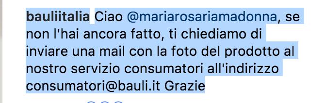 bauli segnalazione cornetto instagram