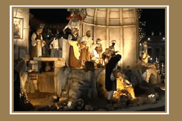 De Luca: 'Orgogliosi del Presepe Napoletano donato a Papa Francesco esposto in Piazza San Pietro'
