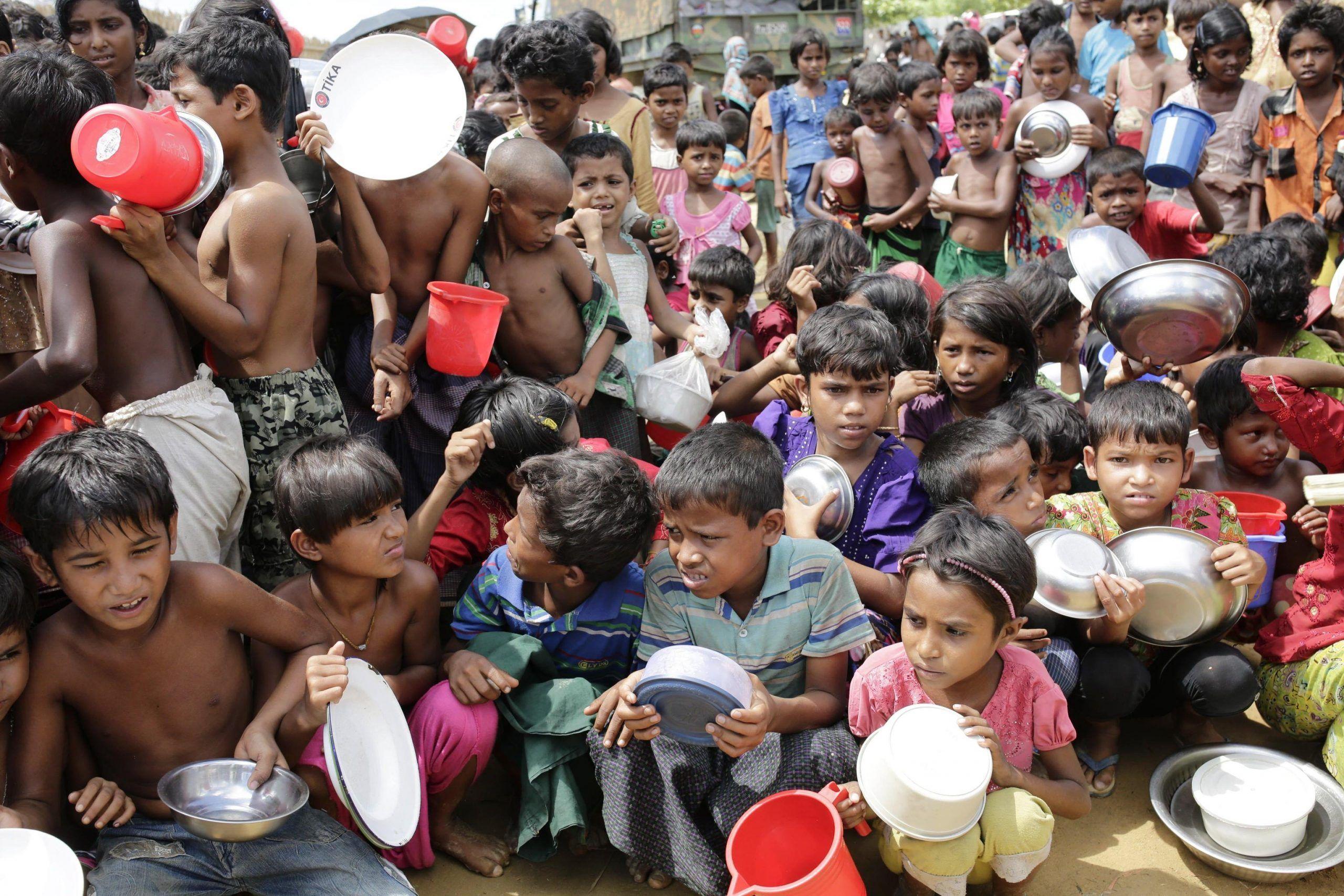 Profughi Rohingya in Bangladesh