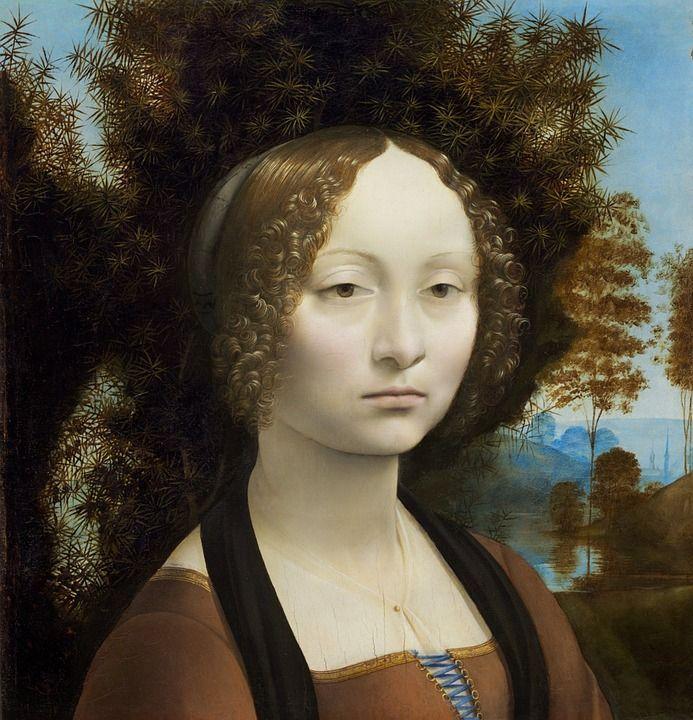 quadri più famosi di leonardo ritratto di ginevra de benci
