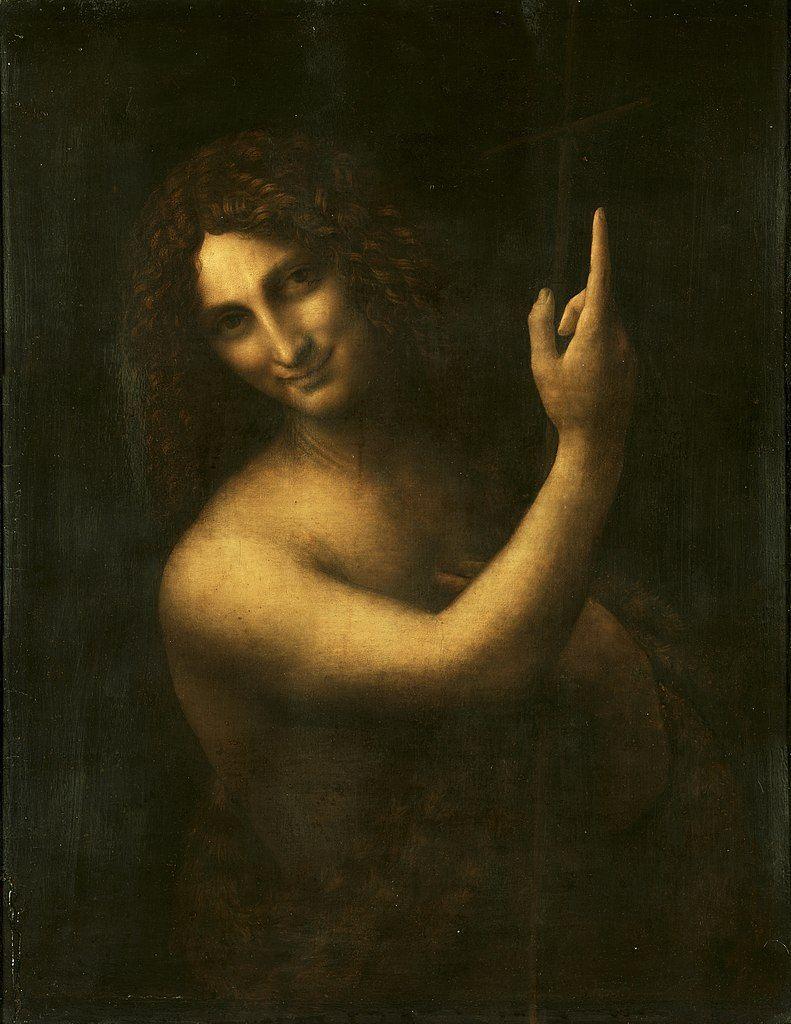 quadri più famosi di leonardo, san giovanni battista