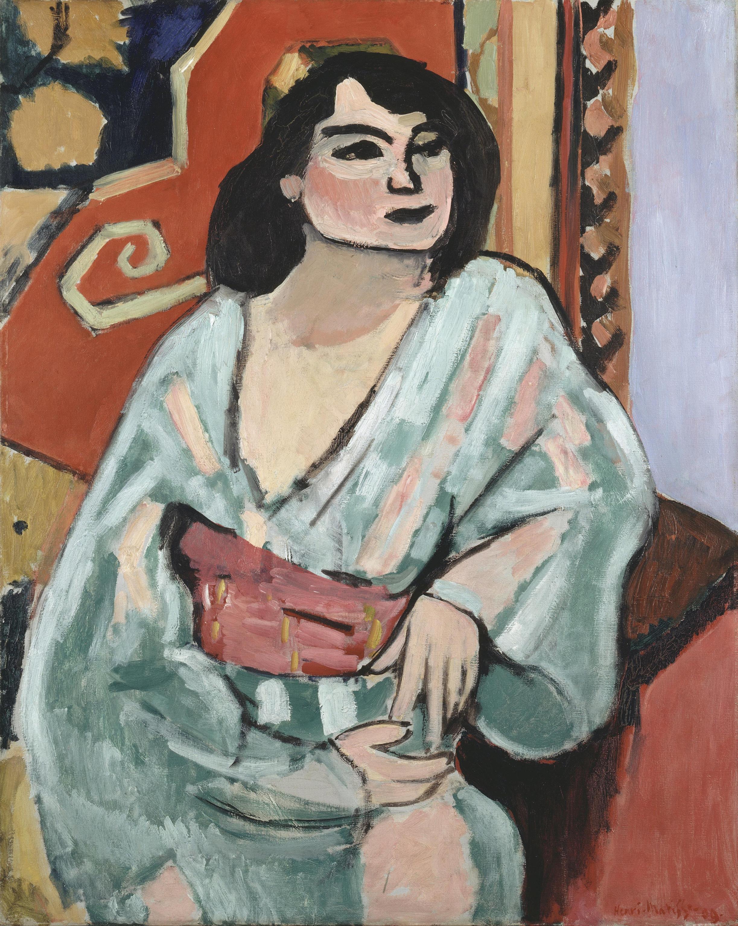 quadri più famosi di matisse l'algerina