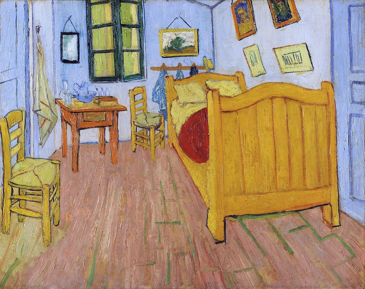 quadri più famosi di van gogh, la camera