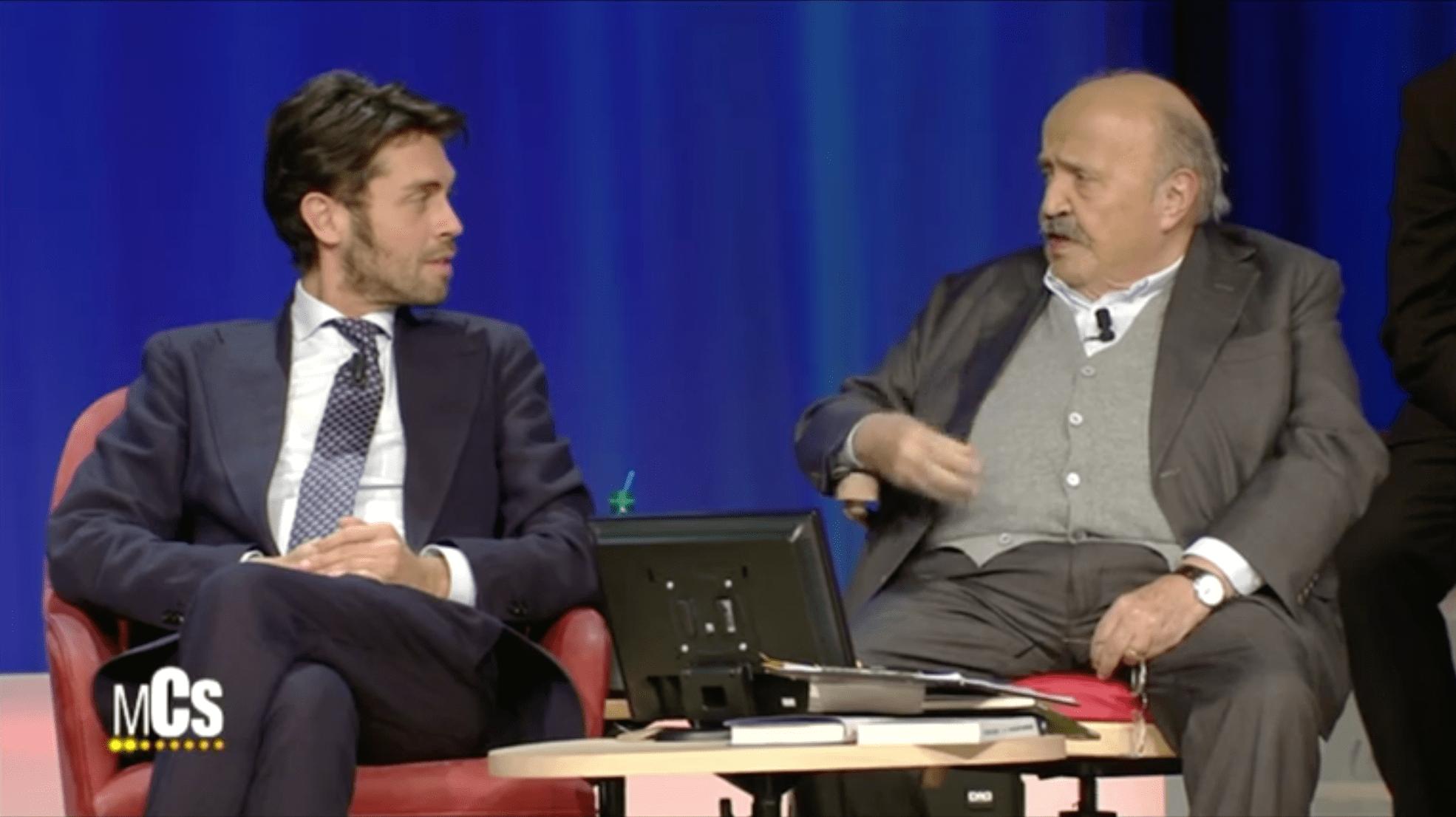 Raffaello Tonon a Maurizio Costanzo: 'Mi hai salvato dalla depressione'